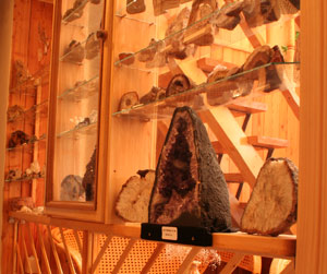 Malé muzeum minerálů