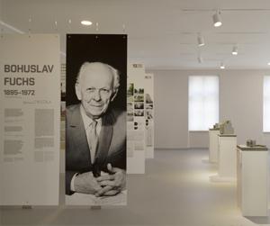 Výstavní síň architekta BohuslavaFuchse
